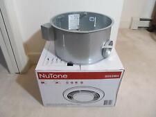 Broan NuTone 9093Wh Housing for Bath Heat Fan & Light w/ Hanger Bar & Brackets