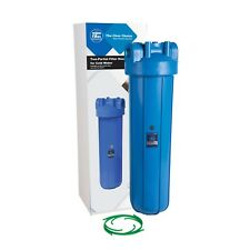 "Aquafilter  20"" Big Blue type Water Filter Housing Jumbo - 1"" BSP FH20B1_L"