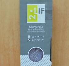 2LIF 4500-2051 Türvorhang Fliegenvorhang Malta weiß 93 x 230 cm