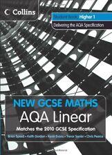 New GCSE Maths - AQA Linear Higher 1 Student Book,Kevin Evans, Keith Gordon, Tr