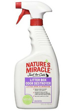 Nature's Miracle - Just for Cats - Litter Box Odor Destroyer Spray - Lot/2 - New