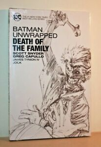 DC Comics Graphic Novel - BATMAN UNWRAPPED: DEATH OF THE FAMILY Sealed NEW