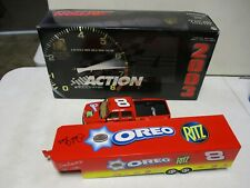 2003 Action Ritz Oreo Crew Cab and Trailer 1/24 Signed by Dale Earnhardt Jr