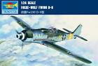 GERMAN FOCKE-WULF FE190 D-9 1/24 aircraft Trumpeter model plane kit02411