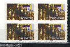 2011/STAMP.ADHESIF//N°559a**CATHEDRALE D'AMIENS-ART GHOTIQUE -BLOC DE 4..TIMBRES