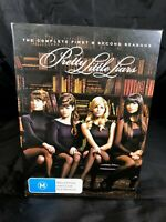 THE COMPLETE FIRST & SECOND SEASONS PRETTY LITTLE LIARS DVD BOX SET