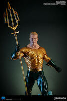 SIDESHOW COLLECTIBLES DC COMICS AQUAMAN PREMIUM FORMAT FIGURE