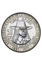 Pérou 50 Soles de Oro 1971 Argent