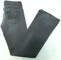 Seven 7 For All Mankind Size 28 A Pocket Flare Jeans Gray Denim  Womens