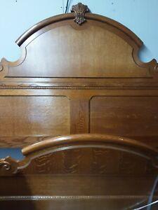 Lexington Furniture King Sampler Collection Oak Bed 391 Series