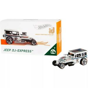 Hot Wheels id - DJ -Express Limited Edition Collectible Series 1