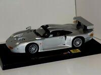 Porsche 911 GT1 Silver 1996  ANSON 30329 1:18