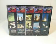 THE GREATEST SHOW IN SPACE: 25 YEARS OF NASA 10 VHS Tapes Boxed set 1995