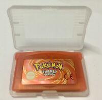 Pokémon Versione Rosso Fuoco Italiana For Gameboy Advance GBA SP DS DS-Lite