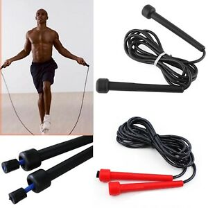 Skipping Rope Jump Speed Exercise Boxing Gym Fitness Workout Adult Kids Free P&P