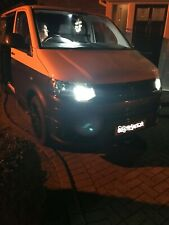 2x VW T5 T6 TRANSPORTER PURE XENON WHITE CREE LED P21W 1156 BA15S DRL UPGRADE