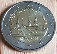 Lettonie : 2 Euro Commemorative 2014 UNC : Riga