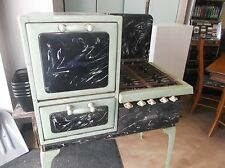 Antique Wincroft Akron Gas Stove Marbled Look for restoration
