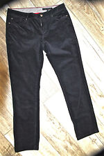 chino pants velvet navy blue TOMMY HILFIGER size 40 fr W30 (8) woman