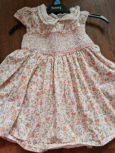 Smocked Summer Dress