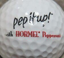 (1) Hormel Pepperoni Pep It Up Logo Golf Ball