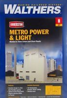 Walthers 933-3837 Metro Power & Light - Molded in 3 Colors of Plastic - N Gauge