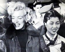 MARILYN MONROE in Korea, Korean War. 1954. 8X10 GLOSSY PHOTO PICTURE IMAGE. M68