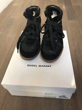 Isabel Marant Wedge Black Sneakers 38/8