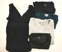 Lot of 5 Old Navy Women's Medium Mixed Style T-Shirts Tank Dress Sweater Set