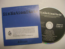 SIXNATIONSTATE Six Nation State– 2007 UK CD PROMO Card Sleeve – Indie Rock