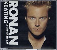 RONAN KEATING - LOVIN' EACH DAY / STARLIGHT 2001 UK ENHANCED CD SINGLE BOYZONE