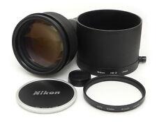 Nikon Nikkor Ai-s 400mm F3.5 ED MF Lens. Nikon L37c 122mm Filter. HE-2 Hood