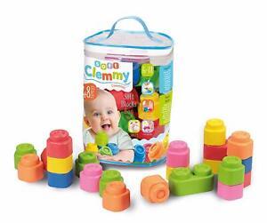 Soft Blocks Bausteine Clementoni Baby Kleinkind Spielzeug  Bauklötze Toys B-WARE