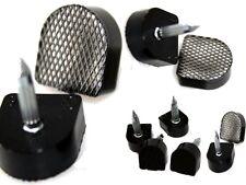 5 Paia di Scarpe PU fai da te RICAMBIO Scarpa Tacco riparazione suggerimenti in nero 8mm tacchi Odell