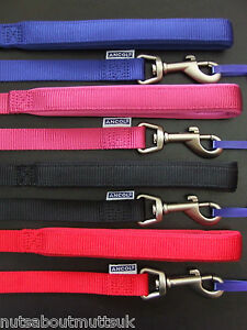 ANCOL HEM AND BOO DOG & CO NYLON DOG LEADS Softweave or Padded- Nuts About Mutts