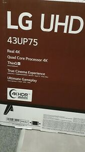 LG UP75 43UP75006LF 43 Inch 2160p 4K UHD Smart TV