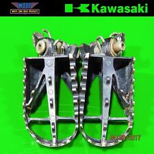 2005-2007 Kawasaki KX250 2 Stroke Footpegs Foot Peg Stand Step 34028-0014 KX450F