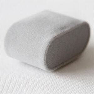 10 PCS Gray Velvet Fabric Fross Pillow for Watch Jewelry Bracelet Display Holder