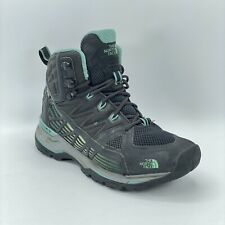 The North Face Womens Hedgehog FastPack GTX Vibram Mid Gray Hiking Boots 6.5 US