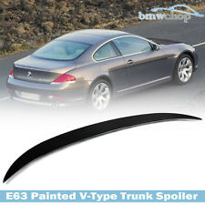 STOCK IN USA ▶ Paint #668 BMW 6-Ser M6 E63 V Type Trunk Spoiler ABS Black Coupe