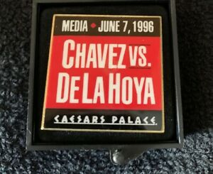 1996 Boxing Press Pin