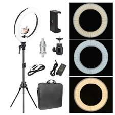 """Zomei 18"""" LED Ring Light Dimmable 5500K Lighting For Camera Photography Video"""