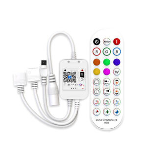 New 2021 Smart WiFi Controller for RGB 5050, 2835 LED Strip Light, Alexa Google