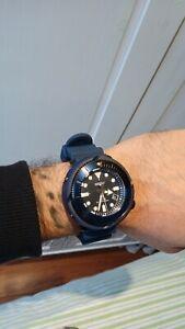 Seiko Prospex Tuna 22mm Soft Silicone Diver Strap New R0400 CY22 Blue Turtle SKX