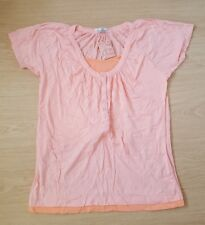 BRAND NEW Coral Pink Short Sleeved T-Shirt Top. VICTORIA JAYNE. Size 20
