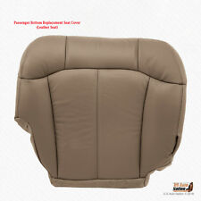 2001 2002 GMC Sierra 2500 2500HD PASSENGER Botton Leather Seat Cover MED TAN