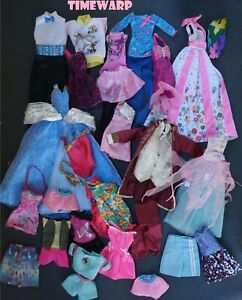 Lot #2 BARBIE & KEN Clothes, Swimsuits, Fashionistas and Vintage 80's