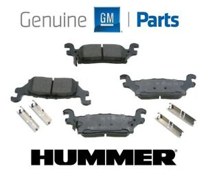 For Hummer H3 H3T 2006-2010 OEM Rear Brake Pad Set Genuine GM 19208132