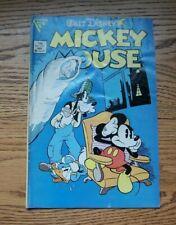 Walt Disney's Mickey Mouse #220 Gladstone Publishing  1986 Lower Grade MIK