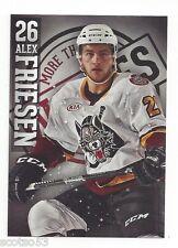 2012-13 Chicago Wolves (AHL) Alex Friesen (Leksands IF)